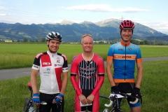 Sieger Clubmeisterschaft Zeitfahren vom 28.6.2016