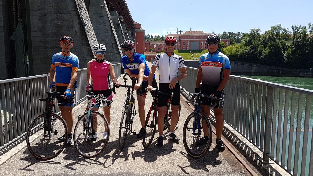Rennvelo-Tour Rafz vom 17.6.2017